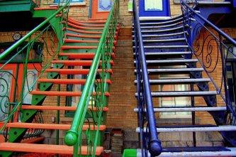 Les escaliers extérieurs du Plateau Mont-Royal