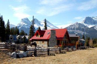 Ranch typique du Canada