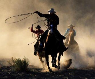 Jouer aux cowboys dans un ranch