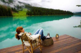 Relaxation au Emerald Lake Lodge
