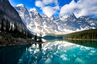 Lac Moraine, Alberta