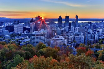 Montreal en automne