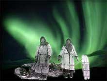 Aurores boréales et culture Inuit