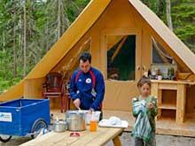 Prêt-à-camper Huttopia