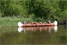 Séjour chez les Amérindiens de la Manawan