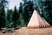 Séjour chez les Amérindiens Montagnais