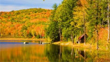 Vermont en automne