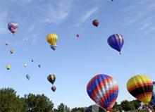 Envolée de montgolfières à Gatineau