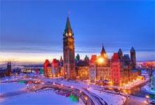 Ottawa et sa colline parlementaire