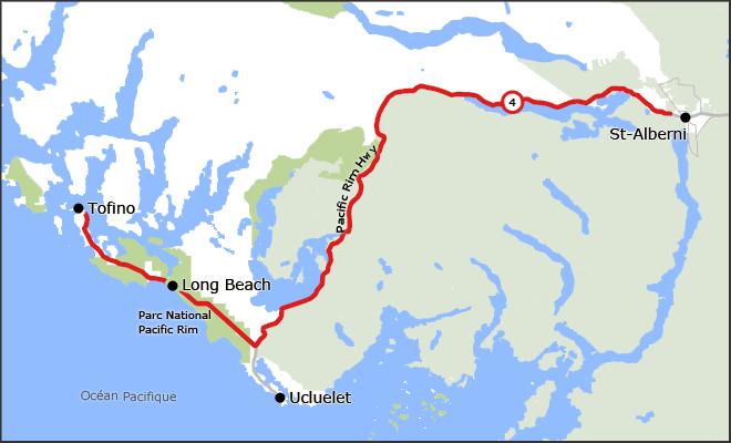 Route Pacific-Rim