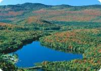 Survol en hydravion au Québec