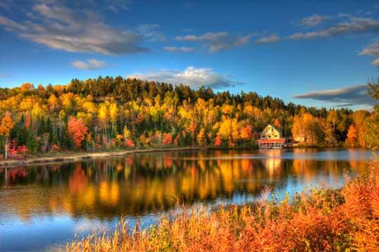Québec en automne