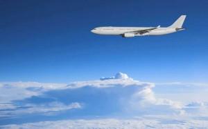 Voyage en avion vers le Canada