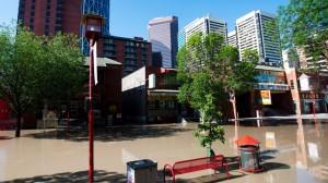Inondation en Alberta