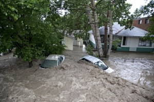 Inondation Banff