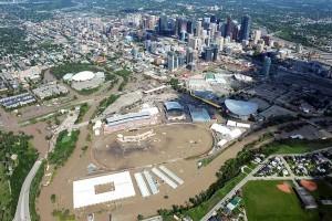Inondations à Calgary