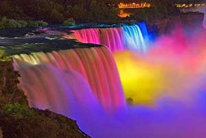 Niagara Falls Nuit