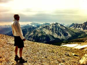 Rando mont Whistlers