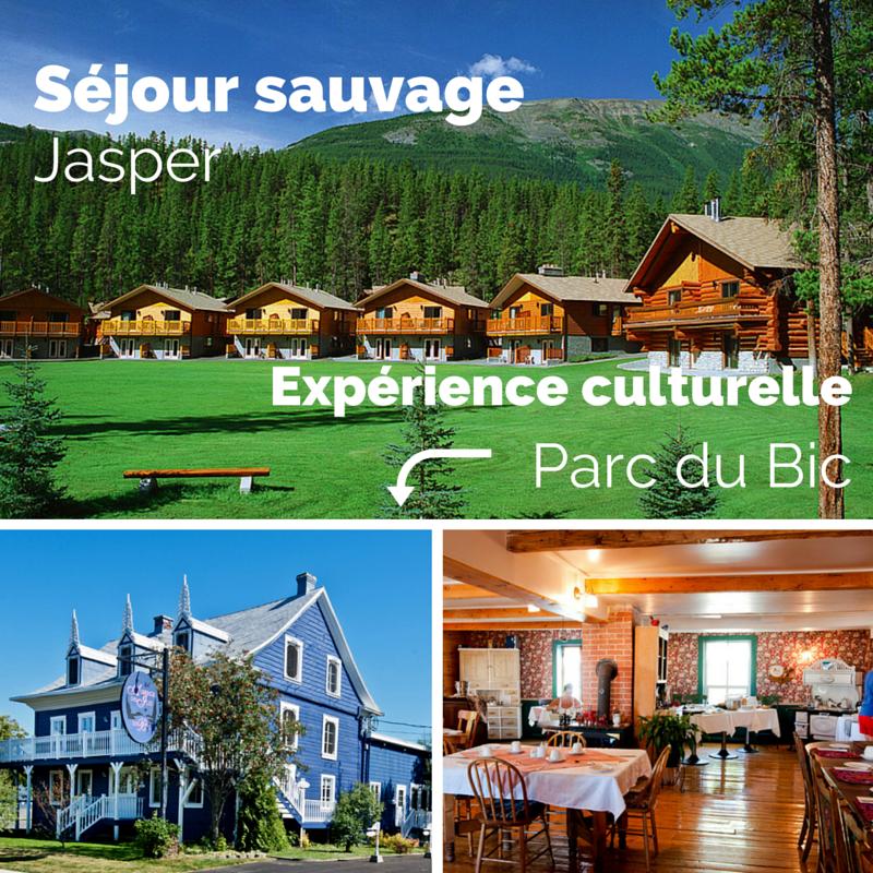 Voyage au Canada : à l'Ouest, un séjour sauvage; à l'Est, une expérience culturelle.