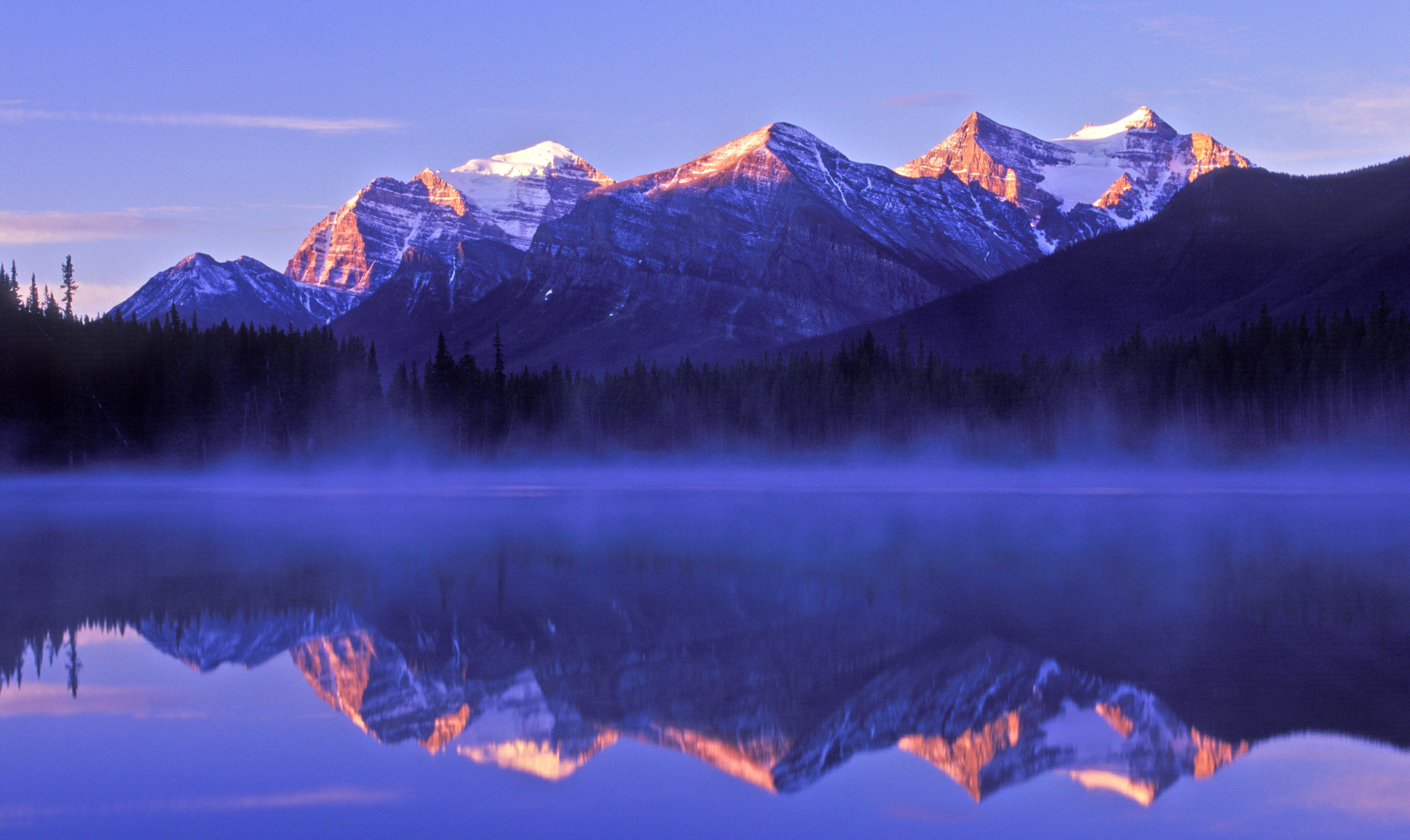 Arrêt sur la Promenade des Glaciers - Lac Herbert