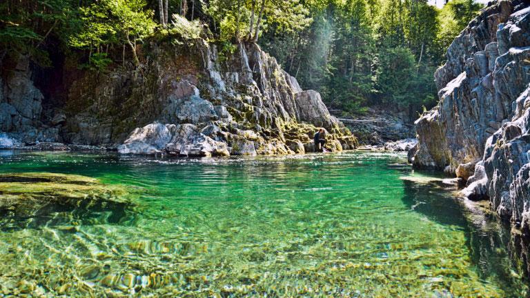 Canyon de la rivière Bonaventure