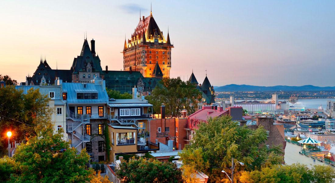 Ville de Québec au Québec