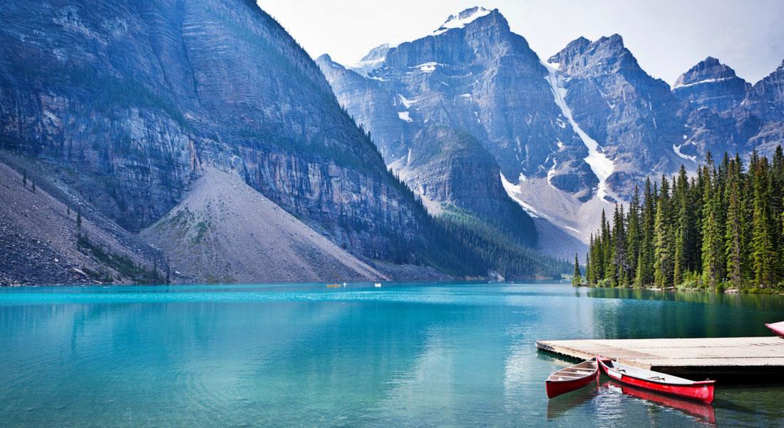 Lac Moraine| Province de l'Alberta